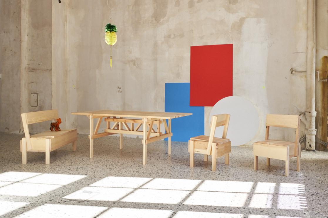 Geflüchteten Projekt Cucula Fertigt Die Bistro Möbel Im Neuen