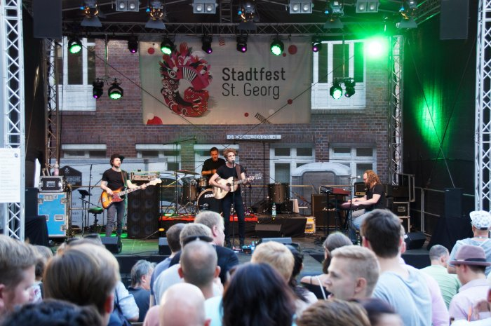 Stadtfest St. Georg in Hamburg
